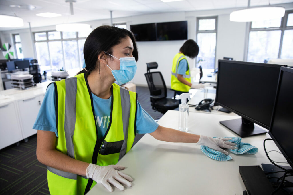 Covid secure cleaning services